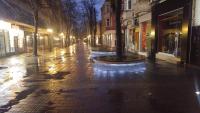 снимка 1 Главната на Пловдив опустя