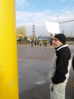 снимка 2 Протест на жителите на село Герман за изграждане на канализация