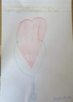 снимка 4 Деца от Пловдив благодариха на медиците с рисунки