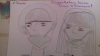 снимка 1 Деца от Пловдив благодариха на медиците с рисунки