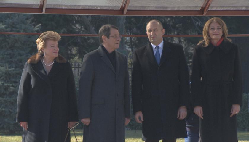 президентът кипър гостува нас