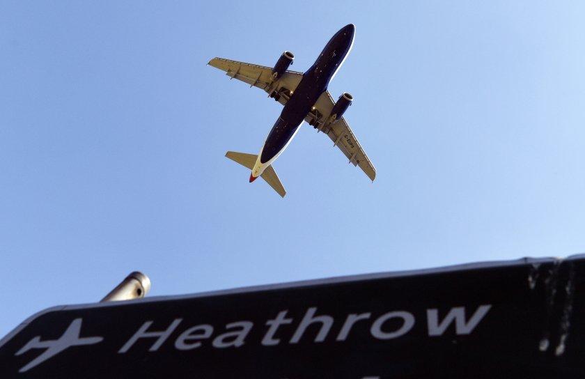 """Разширяването на лондонското летище """"Хийтроу"""" под въпрос заради еколози"""