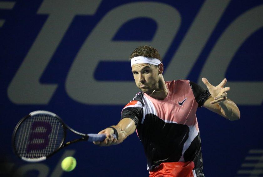 Григор Димитров се класира за четвъртфинал в Акапулко