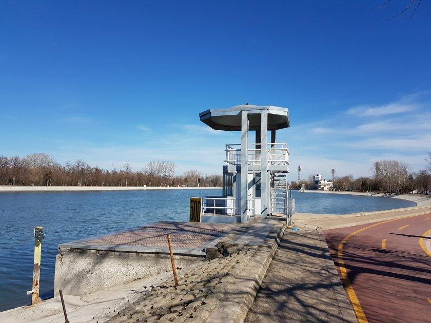 увеличават охраната гребната база пловдив