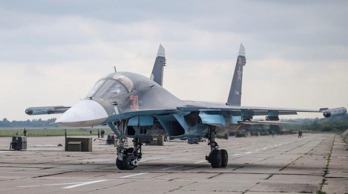Руски Су-27 се разби в Черно море