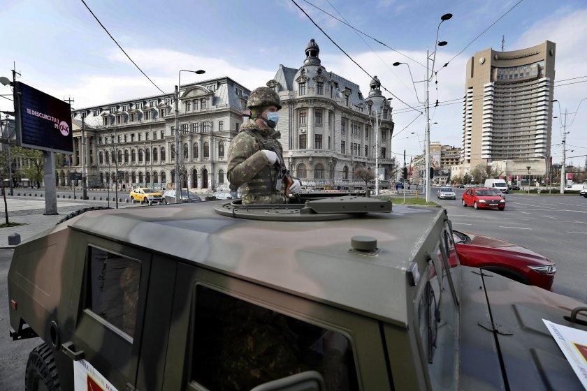 Румънската армия се включи в борбата с COVID-19 (ГАЛЕРИЯ)