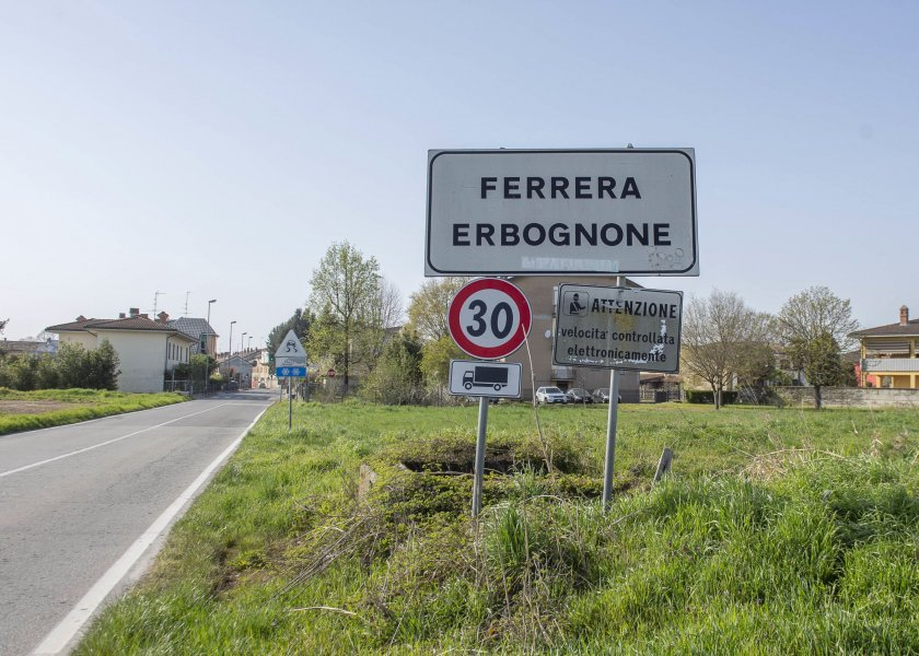 италианско градче област ломбардия без случаи коронавирус