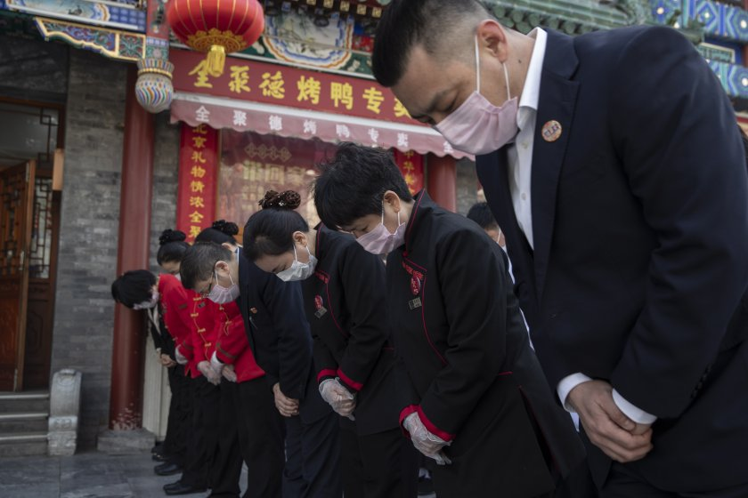 ден траур китай жертвите covid