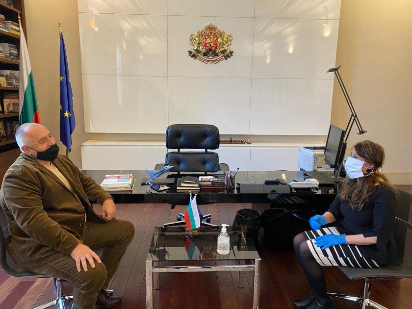 Премиерът Борисов се срещна с американския посланик