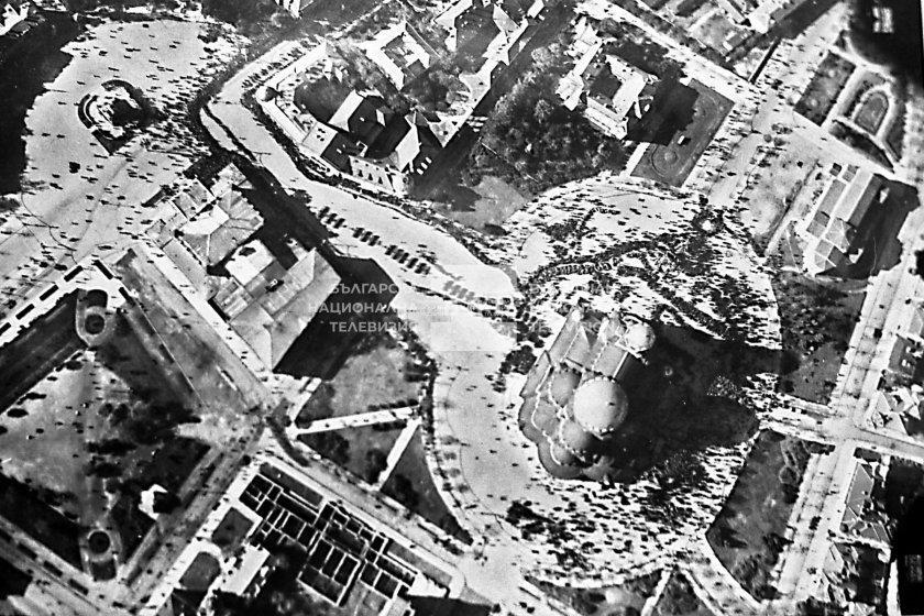 уникални кадри показват българия заснета самолет 1925