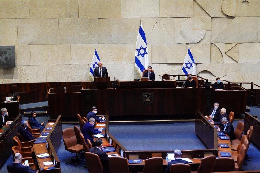 Правителството на националното единство сложи край на политическата криза в Израел