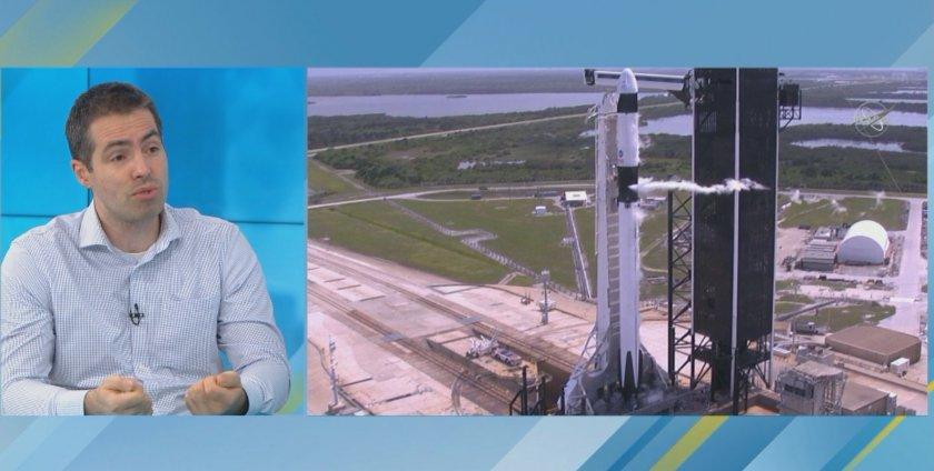 Астрофизик: Мисията на SpaceX е началото на нова ера, достъпът до Космоса ще става по-евтин