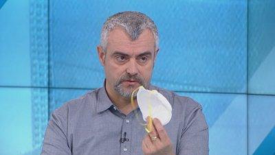 Д-р Георги Миндов: Защитата с маска е за тези, които са в инкубационен период