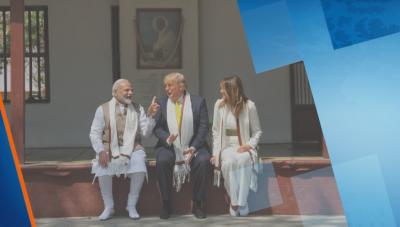 Знаково посещение на Доналд Тръмп в Индия