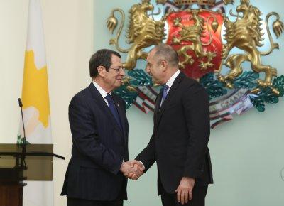 Президентът на Кипър обсъди у нас съвместните проекти с България