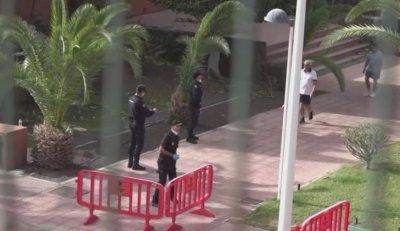 Посолството ни в Мадрид следи ситуацията с поставения под наблюдение хотел на остров Тенерифе