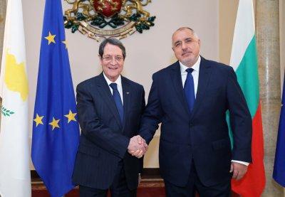 Премиерът Борисов се срещна с президента на Република Кипър