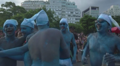 Над 100 000 души празнуваха края на карнавала в Рио де Жанейро