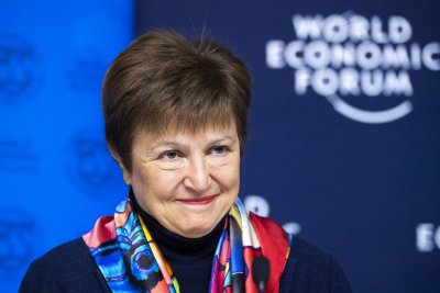 Председателят на МВФ Кристалина Георгиева с призив за обединение срещу коронавируса