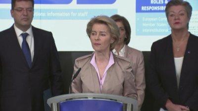 """ЕС повиши риска от коронавируса от """"умерен"""" до """"висок"""""""