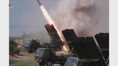 Северна Корея е изстреляла три неидентифицирани снаряда