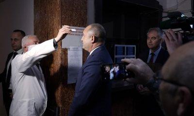 Президентът Радев: В момент на криза всички институции са единни