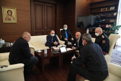 Борисов благодари на учените от БАН за включването им в борбата с COVID-19