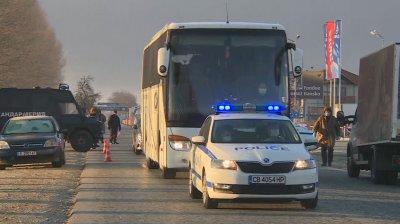 Поредна група чуждестранни туристи беше ескортирана от Банско