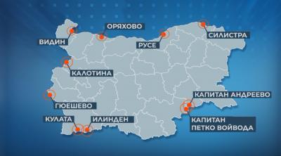 """Правителството определи ГКПП-та за """"зелените коридори"""""""