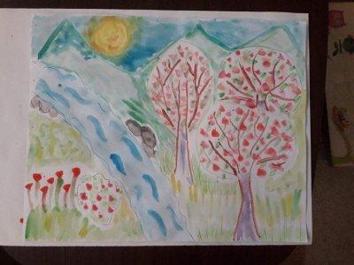 8-годишната Лилия трогна бургазлии с писмо и рисунка до своите прадядо и прабаба