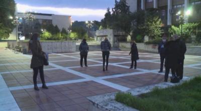 Символичен протест на собственици на заведения за бързо хранене в Благоевград