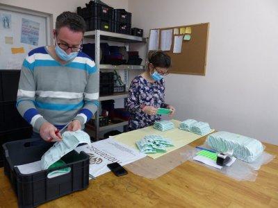 Малко немско предприятие в Пловдив преустрои дейността си в подкрепа на медиците