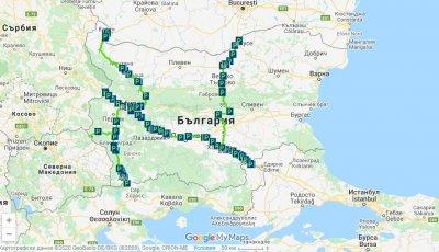 """АПИ пусна интерактивна карта със """"зелените коридори"""" в България"""