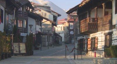 Ресторантите и хотелите в Банско остават затворени за Великден