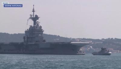 COVID-19 на борда на френски самолетоносач