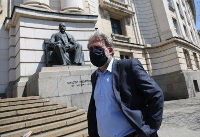 Боил Банов: Поставянето на климатици на фасадата на СУ не е съгласувано с Министерството на културата