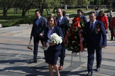Корнелия Нинова: Без Деня на победата нямаше да има Ден на Европа