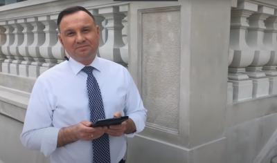Полският президент Анджей Дуда стана рапър
