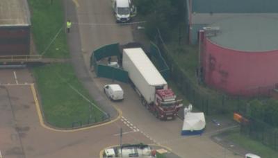 Масови арести заради хладилния камион с българска регистрация, в който загинаха 39 нелегални мигранти