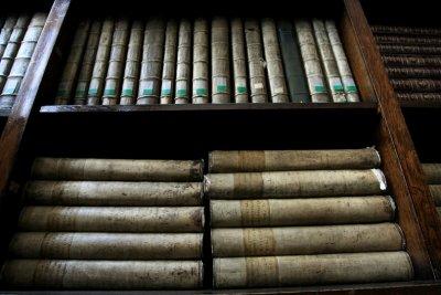 Книги под карантина в библиотеката в Пловдив