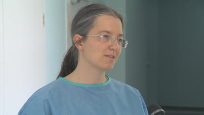Млад учен от германски институт е доброволка в Александровска болница