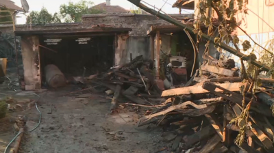 Пожар нанесе материални щети в Бобошево