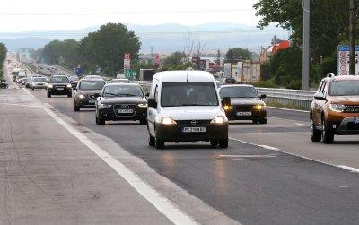 Трафик към София: КАТ очаква 55 хил. коли да се приберат