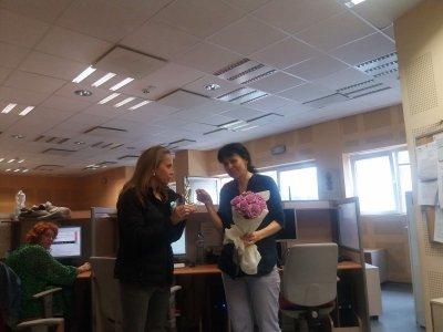 """Журналистът Мария Чернева получи награда за филма си """"В зоната на COVID-19"""""""