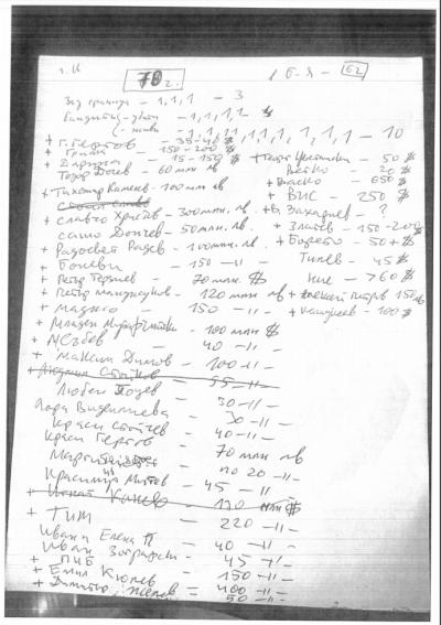 Спецпрокуратурата публикува бележката от дома на братя Бобокови