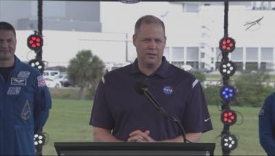 НАСА в очакване на историческия полет