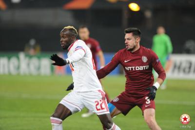 ЦСКА изпусна Клуж и остана без гол в група А на Лига Европа