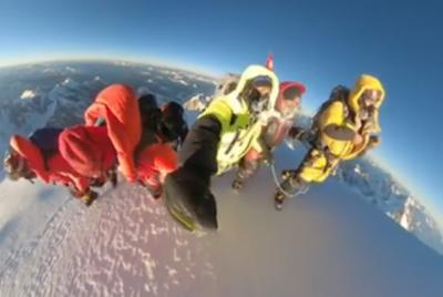 Кадри от зимното изкачване на К2 (ВИДЕО)
