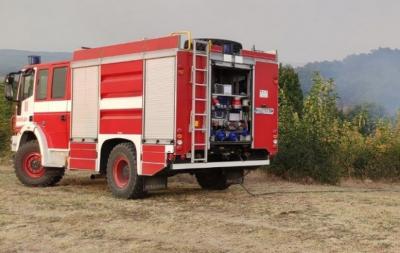 Пожар пламна в кюстендилското село Тишаново