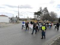 Представители на транспортни фирми протестираха на Дунав мост